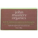 John Masters Organics Birch & Cedarwood Cleansing & Shaving Bar Multifunktions-Seife für Männer und Frauen  128 g
