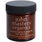 John Masters Organics Bourbon Vanilla & Tangerine formázó paszta a haj tökéletes kinézetéért  57 g