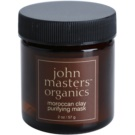 John Masters Organics Oily to Combination Skin čisticí pleťová maska Moroccan Clay (Purifying Mask) 57 g