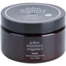 John Masters Organics Sweet Raspberry & Orange exfoliant corp pentru piele neteda si delicata  136 g