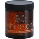 John Masters Organics Shine On gel para alisar y dar brillo al cabello (Leave-In Hair Treatment for Shine & Softness) 113 g