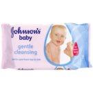 Johnson's Baby Diapering делікатно очищаючі серветки 56 кс