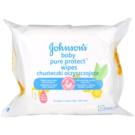 Johnson's Baby Pure Protect вологі очищуючі серветки для дітей  25 кс
