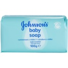 Johnson's Baby Wash and Bath Seife mit Milchextrakt für Kinder  100 g