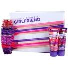 Justin Bieber Girlfriend lote de regalo I.  eau de parfum 100 ml + leche corporal 100 ml + gel de ducha 100 ml