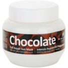 Kallos Chocolate mascarilla regeneradora para cabello seco y dañado (Full Repair Mask for Dry and Damaged Hair) 275 ml