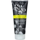 Kallos Gogo енергетичний гель для душа для тіла та волосся  200 мл