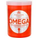Kallos KJMN Nourishing Hair Mask With Omega-6 Complex And Macadamia Oil (Omega Rich Repair Hair Mask with Omega-6 Complex and Macadamia Oi) 1000 ml