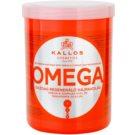Kallos KJMN odżywcza maska do włosów z kompleksem omega-6 i olejkiem makadamia  1000 ml