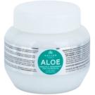 Kallos KJMN hydratační maska s aloe vera (Moisture Repair Shine Hair Mask with Aloe Vera Extract) 275 ml