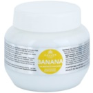 Kallos KJMN erősítő maszk multivitamin komplexszel (Banana Fortifying Hair Mask with Multi-Vitamin Complex) 275 ml