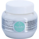 Kallos KJMN Hydratisierende Maske mit Meeralgen Extrakt und Olivenöl (Algae Moisturizing Hair Mask with Algae Extract and Olive Oil) 275 ml