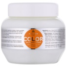 Kallos KJMN máscara para cabelo pintado (Color Hair Mask with Linseed Oil and UV Filter) 275 ml