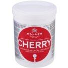 Kallos KJMN hidratáló maszk a károsult hajra (Conditioning Mask with Cherry Seed Oil) 1000 ml