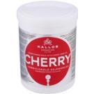 Kallos KJMN máscara hidratante para cabelo danificado (Conditioning Mask with Cherry Seed Oil) 1000 ml