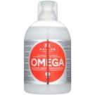 Kallos KJMN Regenerating Shampoo With Omega-6 Complex And Macadamia Oil (Rich Regenerating Shampoo with Omega-6 Complex and Macadamia Oil) 1000 ml