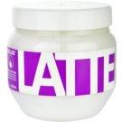 Kallos Latte maseczka  do włosów zniszczonych zabiegami chemicznymi  800 ml