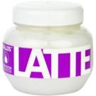 Kallos Latte maseczka  do włosów zniszczonych zabiegami chemicznymi  275 ml