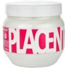 Kallos Placenta maska pro suché a poškozené vlasy (Hair Mask) 800 ml