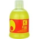 Kallos Hair Care champô nutritivo para cabelo seco e normal (Egg Shampoo) 1000 ml