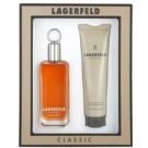 Karl Lagerfeld Lagerfeld Classic dárková sada V. toaletní voda 100 ml + sprchový gel 150 ml