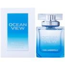 Karl Lagerfeld Ocean View Eau de Parfum für Damen 85 ml