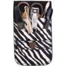 Kellermann Manicure set pentru manichiura perfecta zebra 6 buc