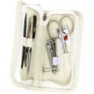Kellermann Manicure kit para manicure perfeita avestruz  5 un.