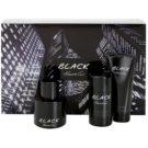 Kenneth Cole Black zestaw upominkowy II. woda toaletowa 100 ml + balsam po goleniu 100 ml + dezodorant w sztyfcie 75 g