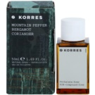 Korres Mountain Pepper (Bergamot/Coriander) Eau de Toilette para homens 50 ml