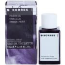Korres Paeonia (Vanilla/Amber/Pear) Eau de Toilette pentru femei 50 ml