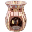 Kringle Candle Brown Mosaic Ceramic Aroma Lamp