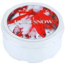 Kringle Candle First Snow čajová svíčka 35 g