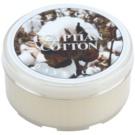 Kringle Candle Egyptian Cotton vela do chá 35 g