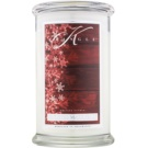 Kringle Candle Frosted Mahogany vela perfumado 624 g