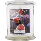 Kringle Candle Oak & Fig vonná svíčka 411 g