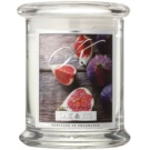 Kringle Candle Oak & Fig vonná svíčka 240 g