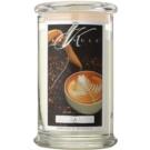Kringle Candle Vanilla Latte ароматна свещ  624 гр.