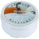 Kringle Candle White Pumpkin vela de té 35 g