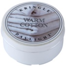Kringle Candle Warm Cotton Teelicht 35 g