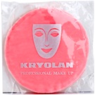 Kryolan Basic Accessories велурен тампон за пудра голяма Ø 10 cm (Premium Powder Puff with Finger Pocket)