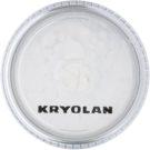 Kryolan Basic Face & Body pó iluminador para rosto e corpo tom Silver 3 g
