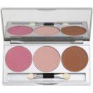 Kryolan Basic Face & Body paleta iluminadora (Glamour Glow) 9 g