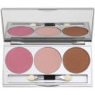Kryolan Basic Face & Body paleta osvetljevalcev (Glamour Glow) 9 g