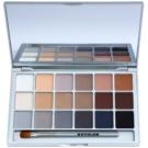 Kryolan Basic Eyes paleta očních stínů 18 barev odstín V 3 Natural 20 g