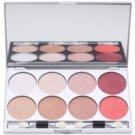 Kryolan Basic Eyes Eyeshadow Palette, 8 Shades With Mirror And Applicator Color Elegance 24 g