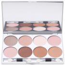 Kryolan Basic Eyes paleta očních stínů 8 barev se zrcátkem a aplikátorem odstín Essence 24 g