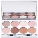 Kryolan Basic Eyes paleta senčil za oči 8 barv z ogledalom in aplikatorjem odtenek Essence 24 g