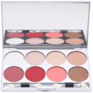 Kryolan Basic Eyes paleta očních stínů 8 barev se zrcátkem a aplikátorem odstín Indulgence 24 g