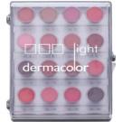 Kryolan Dermacolor Light paleta con 16 tonos de labios  11 g